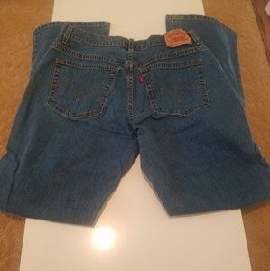 Vintage Levi's Jeans relaxed boot cut 550 14L